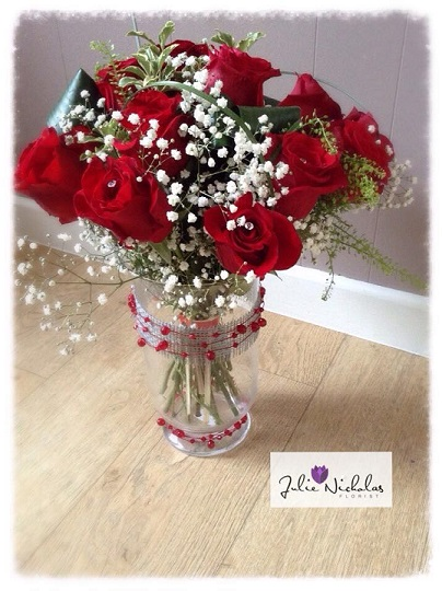 wedding flowers valentines day discount